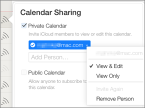 Sync Calendars and Reminders with Others