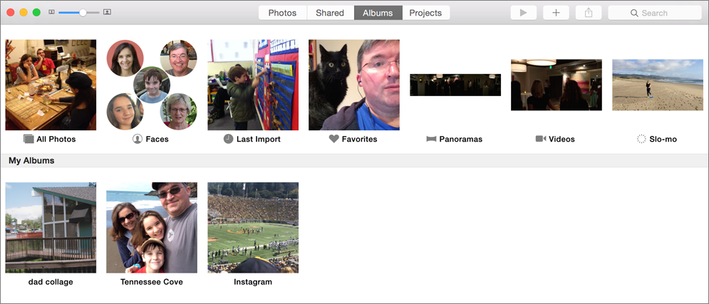Make albums in photos the albums pane also shows photos generated collections not solutioingenieria Image collections