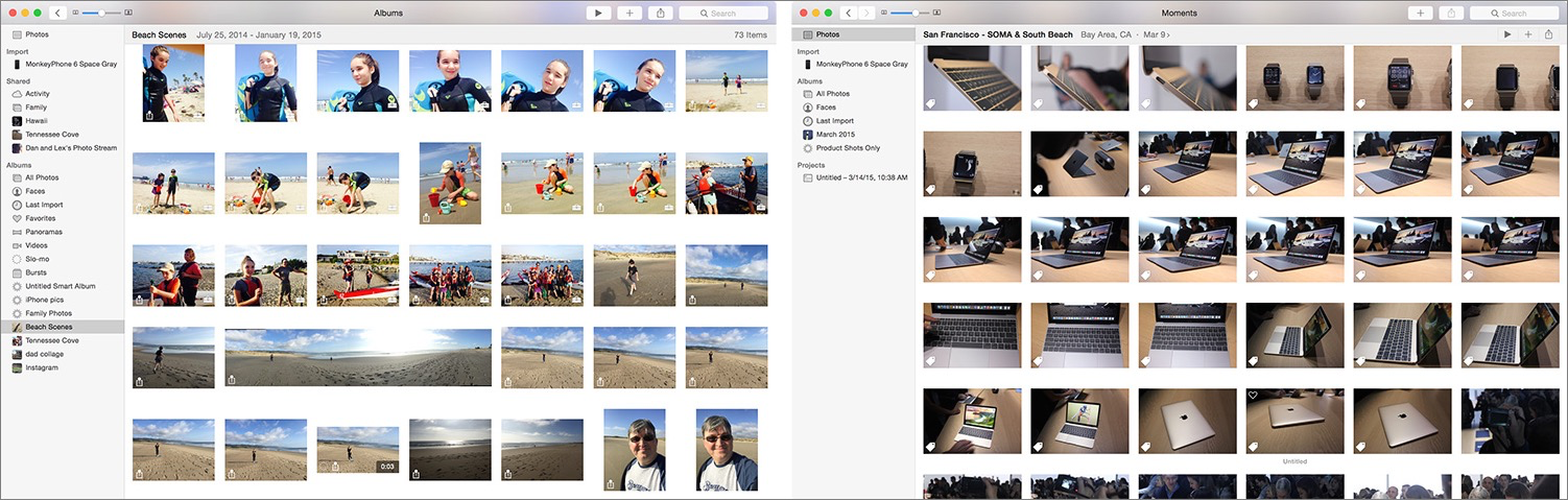 Use Multiple Photos Libraries