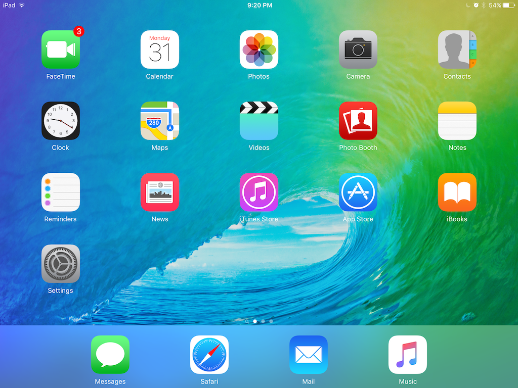 1 The Main IOS Interface Is A Simple Icon Grid