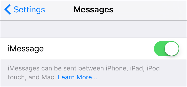 Using Messages In Ios 9