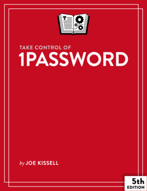 Take Control of 1Password cover