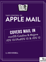 Take Control of Apple Mail cover