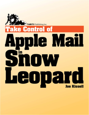 Take Control of Apple Mail in Snow Leopard