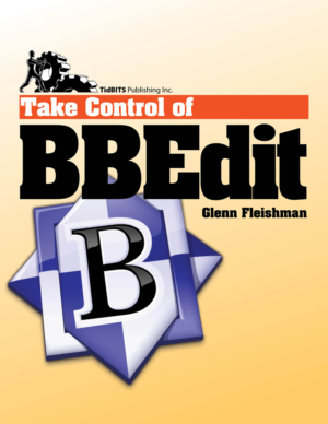 Take Control of BBEdit