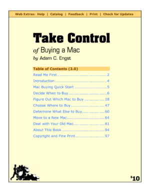 Take Control of Buying a Mac