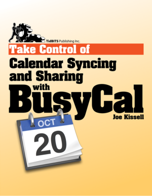 Take Control of Calendar Syncing and Sharing with BusyCal