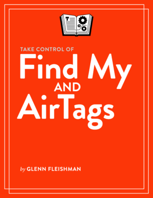 Take Control of Find My and AirTags cover