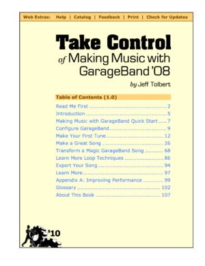 Take Control of Making Music with GarageBand '08