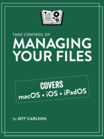 Take Control of Managing Your Files cover