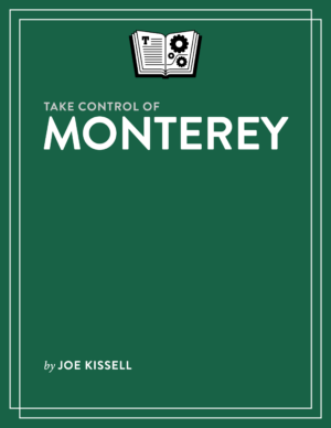 Take Control of Monterey cover
