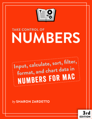 Take Control of Numbers cover