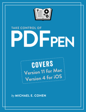 Take Control of PDFpen cover