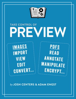 Take Control of Preview cover