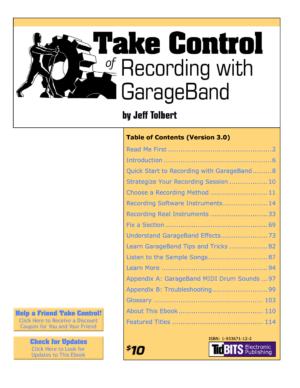 Take Control of Recording with GarageBand