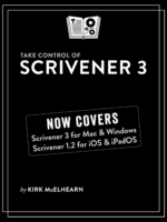 Take Control of Scrivener 3 cover