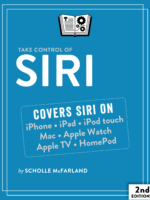 Take Control of Siri cover