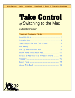 Take Control of Switching to the Mac