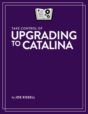 Take Control of Upgrading to Catalina cover