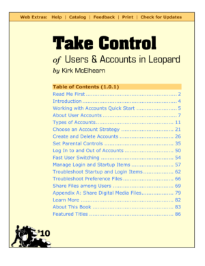 Take Control of Users & Accounts in Leopard