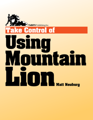 Take Control of Using Mountain Lion