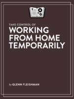 Take Control of Working from Home Temporarily cover