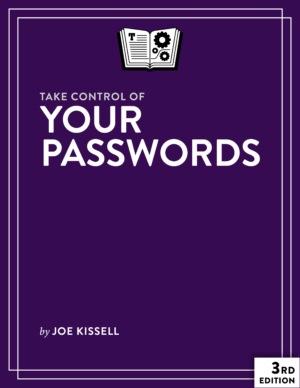 Take Control of Your Passwords cover