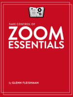 Take Control of Zoom Essentials cover